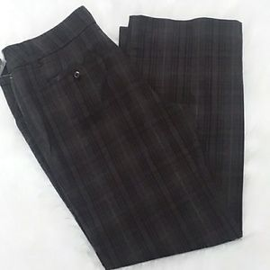 Women's Size 14 NEW Dalia Collection Plaid Pants